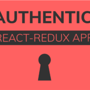 JWT Authentication React-Redux App - header image