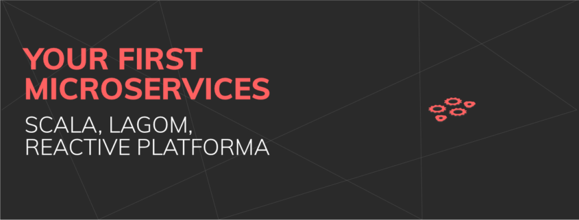 Your First Microservices - header image black