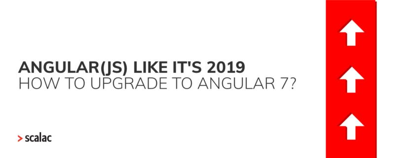 Upgrade angular update angular upgrade to angular 7