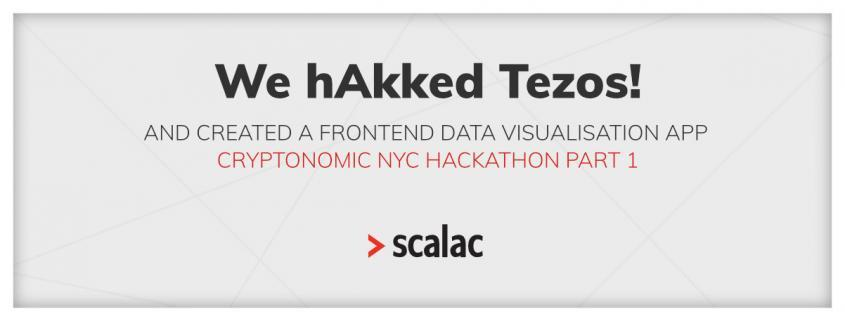 Frontend data visualisation app - Tezos Hackathon part 1