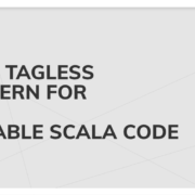 Scala code Exploring Tagless Final pattern for extensive and readable